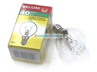 Backofenlampe E14 40W 300° D=45MM H=75MM