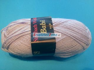 Wolle Babi 50g Farbe 008 (lila)