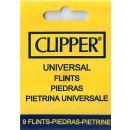 Feuersteine für Clipper Feuerzeug 1 Blister je 9 Seine