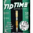 Filter Menthol Tip Time 120Stk +4 Halter +1 Adapter