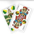 Spielkarten Schnapskarten 24 Blatt doppeldeutsches Bild...