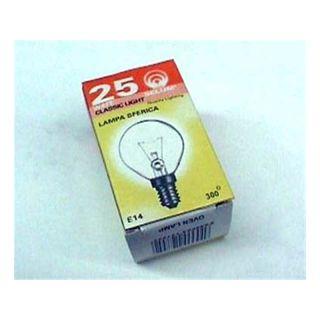 Backofenlampe E14 25W 300° D=45MM H=80MM klar